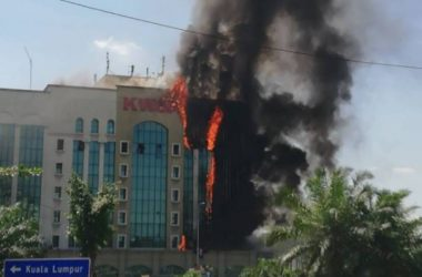 Flammable cladding panels fuelled the EPF building blaze